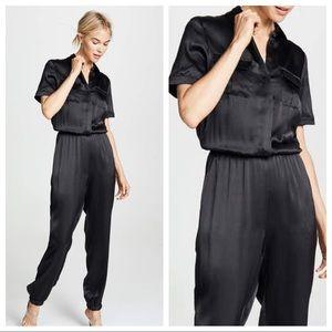 Cami NYC   Maddi Silk Jumpsuit Small New